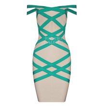 PB 2020 Новое поступление Модное Элегантное геометрическое сексуальное платье без рукавов с открытыми плечами без бретелек для вечеринки зна...(Китай)