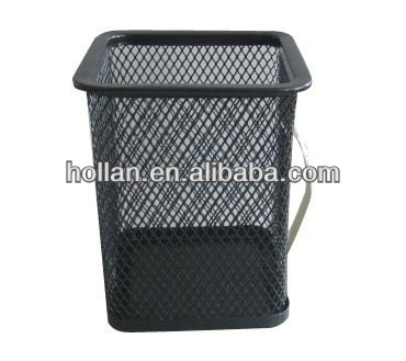 Stationery Dollar Item Metal Mesh Pencil Holder