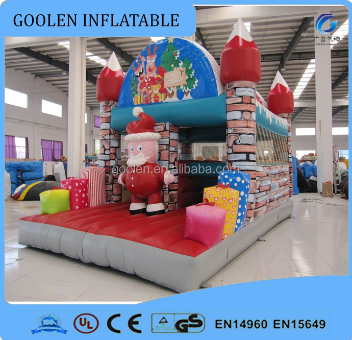 inflatable christmas bouncer, bouncy house for christmas <strong>decorations</strong>