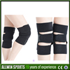 black durable knee shin protector guard pad Knee Supports