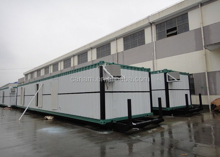 Flat pack combined prefabricated container house camp