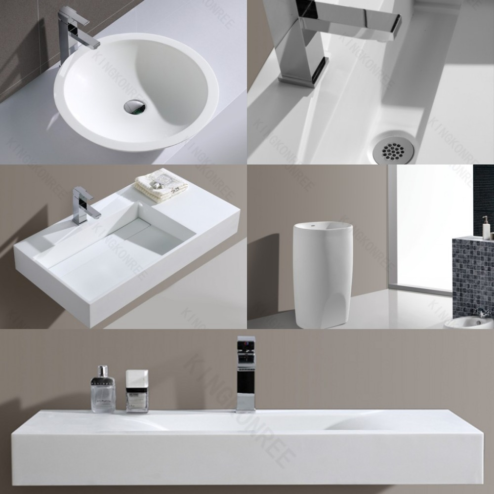 Factory Free Standing Bathroom Sink Stand Alone Sink