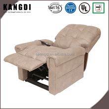 Adjustable home leather sofa electric PU lift recliner massage chair