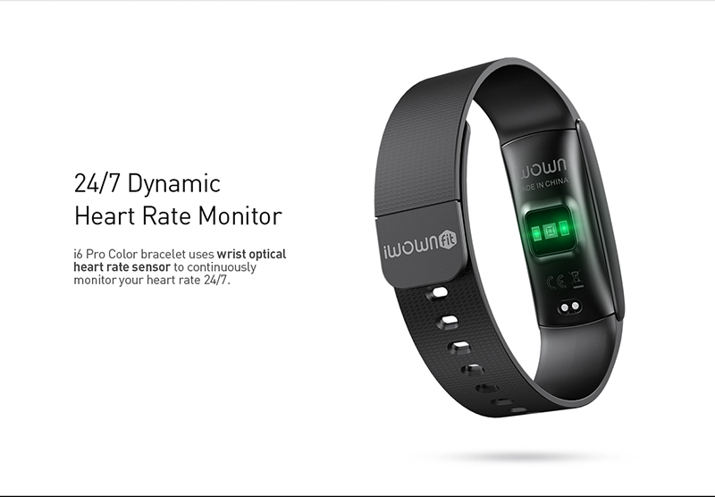 IWOWN i6Pro C Original IWOWNFit i6 Pro C with Color Screen Heart Rate Monitor Fitness Tracker