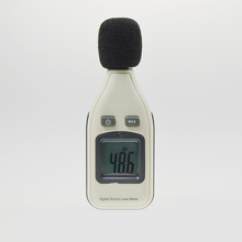 LCD display digital sound level meter noise tester