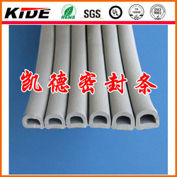 D/E/P shaped weather stripping self adhesive foam seal