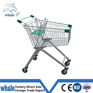 supermarket shopping trolley dimensioning