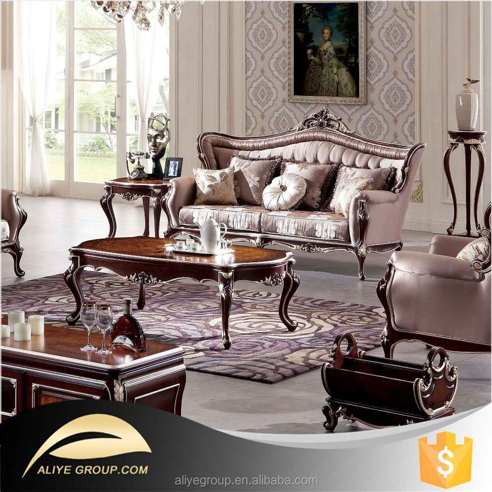 As20-french Antique Furniture Manufacturer/living Room