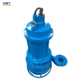River sand sludge pump submersible with agitator