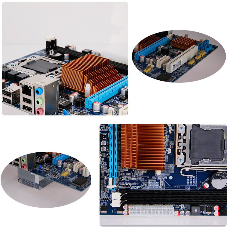 Manufacturers direct X58 V179 LGA 1366 new computer/Desktop motherboard