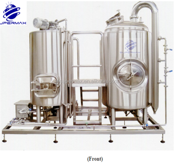 f1038f1279 Supermax hot water tank and brew kettle 300 litre with brewery cip system