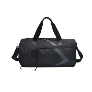 f5bba0cb7e23 Promotional Sports Gym Duffle Polyester Round Men Travel Bags
