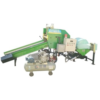 Factory Manufacturer Automatic Corn Silage Mini Round Hay Baler