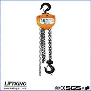 10T heavy duty good performance HSZ-K manual chain block with overload protection