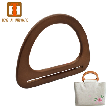 China Suppliers Nature Wooden Bag Handle For