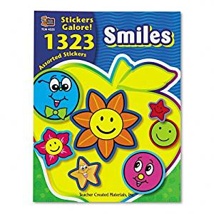 Sold as 1 Package Sticker Book Mini Size 3,024/Pack