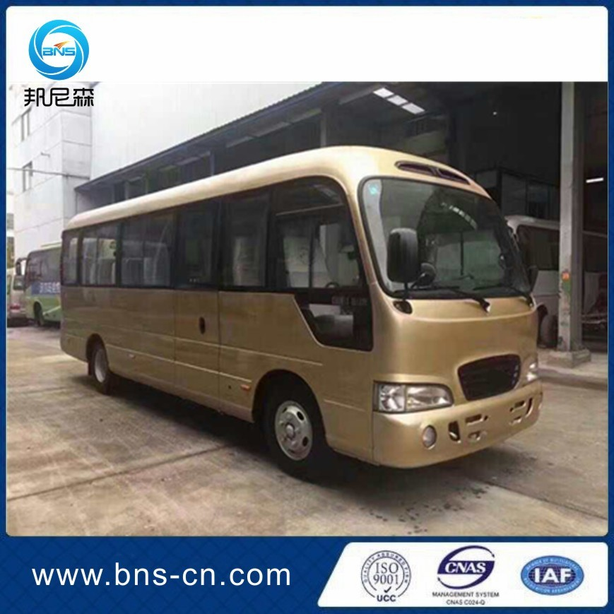 Korea original left steering used county used bus for Asia market