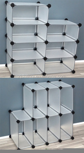 PP storage products 16 cubes shoe rack