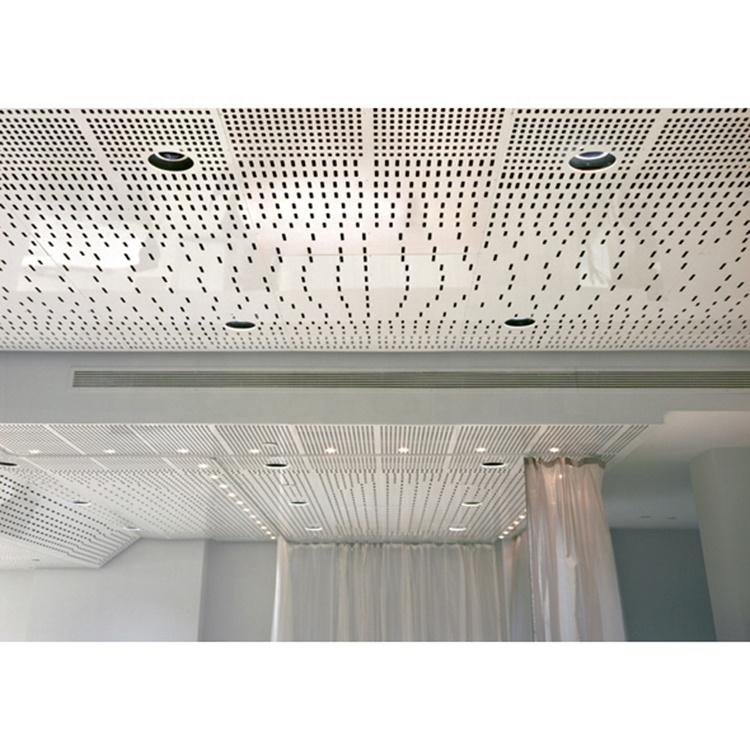 Customized Hole Perforated Aluminum Sheet For Cladding
