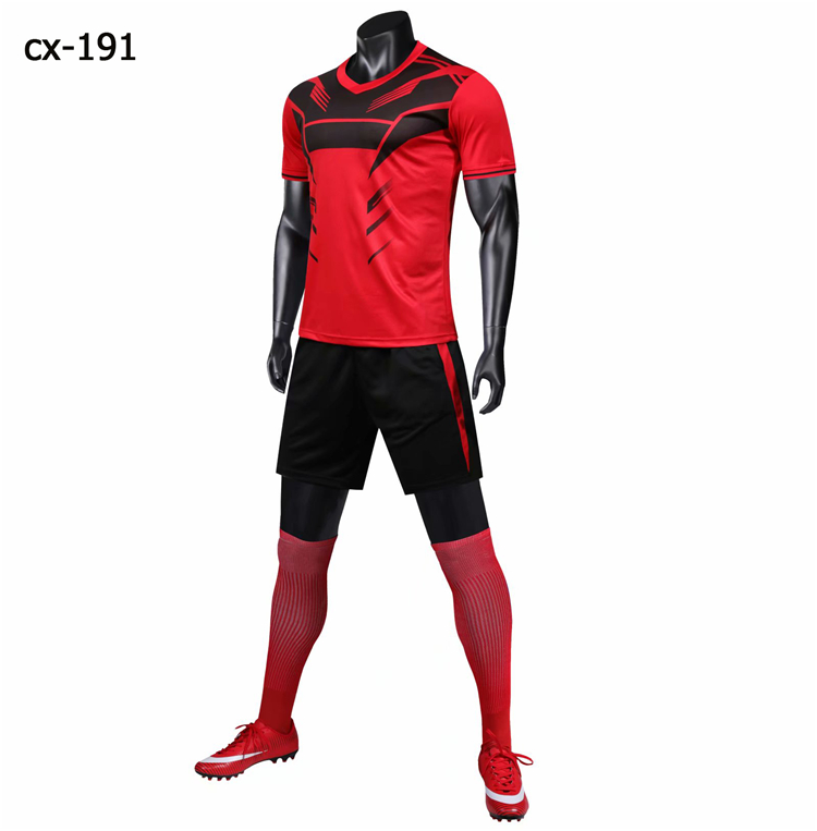 Latest Football Shirt Maker Soccer Jersey Set,custom Sublimated Soccer Shirt Designs