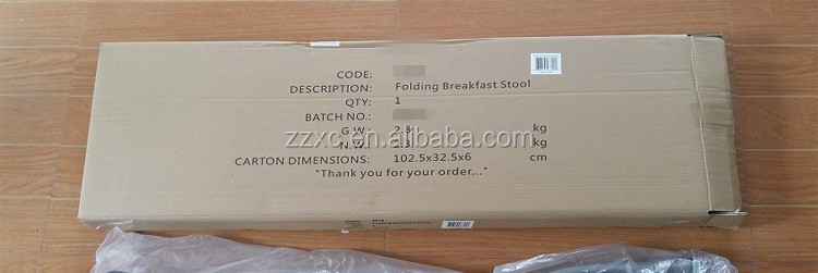 Soft Seat Metal Folding Breakfast Bar Stool
