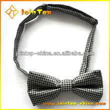 Modern cheapest wholesale bow tie with customized company logo for men