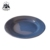 Custom printed dinner dish wholesale enamel black cast iron plates for restaurant