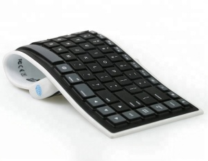 Portable Mini Flexible Silicone Wireless Bluetooth Keyboard BK6802
