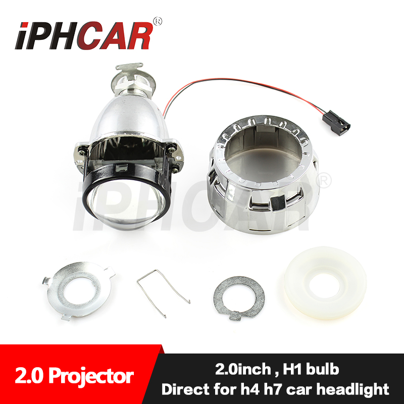 Hot Sale Universal Car HID Projector Lens Without Angel Eye Equipped with Cover