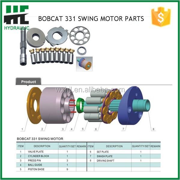 Bobcat 331 Parts Diagram - Wiring Diagrams ROCK
