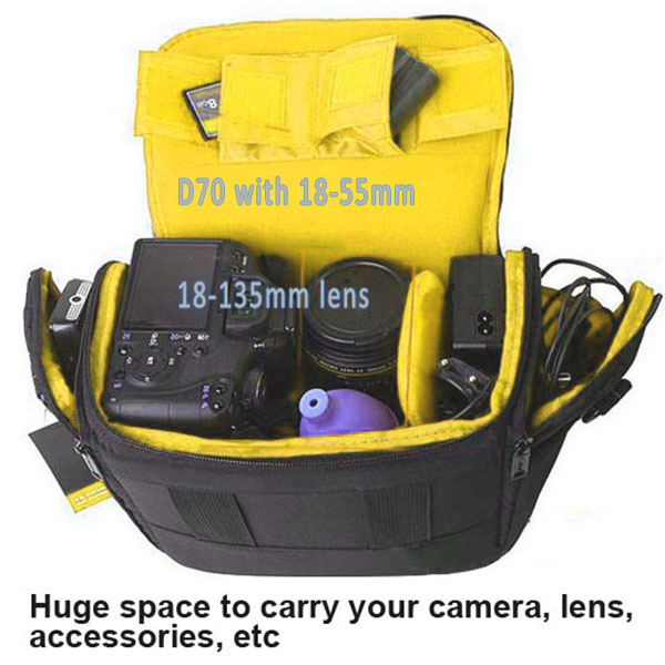 Slr Waterproof Camera Bag For Nikon D3200 D3100 D5100 D7100 D5200 D5300 D3300 D90 D7000 D610