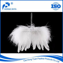 High Quality Eco-friendly Environmentally Party Using Infant Feather Wing Butterfly Wings White Turkey Wing Feathers
