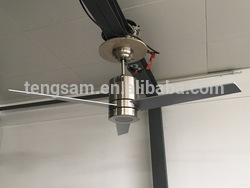 30 inch Six Blades Single Lights colorful Ceiling Fan