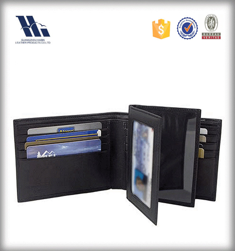 Raw material imperial leather wallet RFID blocking for card wallet