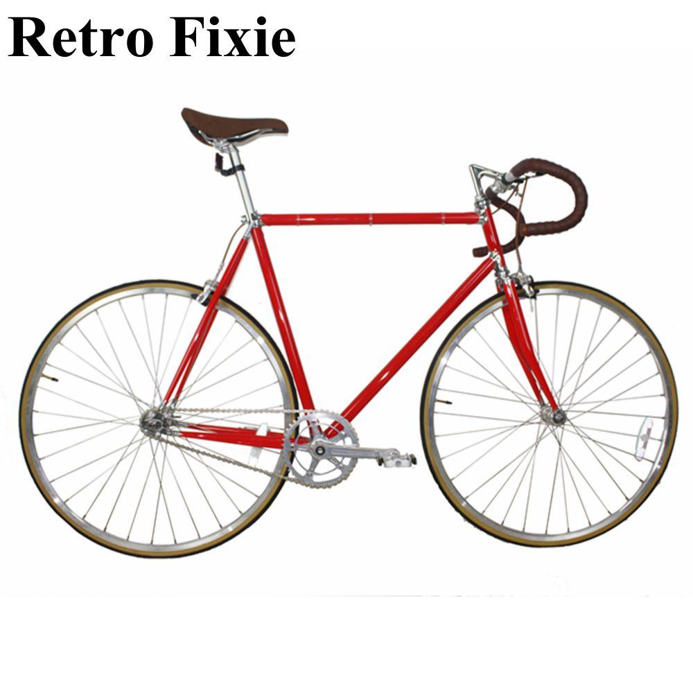 """Fixie Single Speed Track Road Bike Fork CR-MO 1/"""" Threaded 700c"""