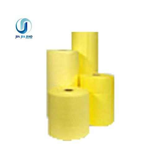 liquid chemical absorbent roll