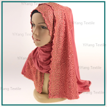 Timett 95% Cotton 5% Spandex 50*160cm Hot Hijab Sexy Women Scarf