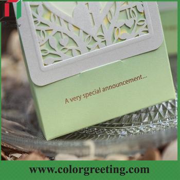 Wedding Card Box Invitation Design