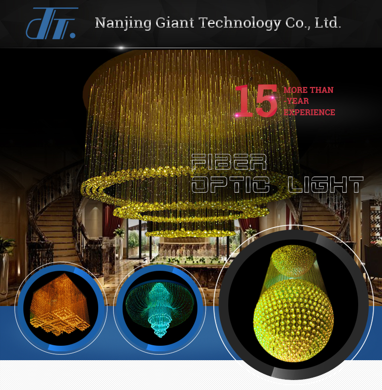 Wholesale Colorful Led Fiber Optic Crystal Chandelier And Pendant ...