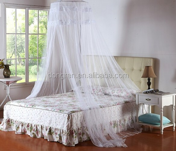 LACE CANOPY NET & mosquito net mosquito netting girls bed canopy circle hanging ...