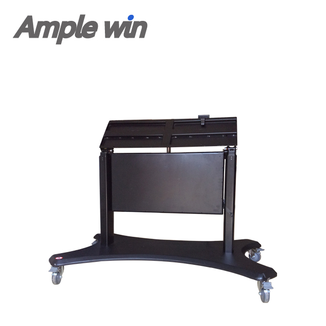 Custom Colors Up and down removed TV cart Display Lcd Tv Trolley Furniture