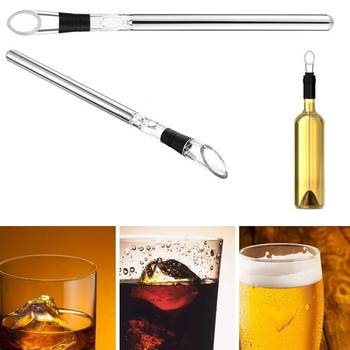 Reusable Wine Bottle Chiller Stick with areator