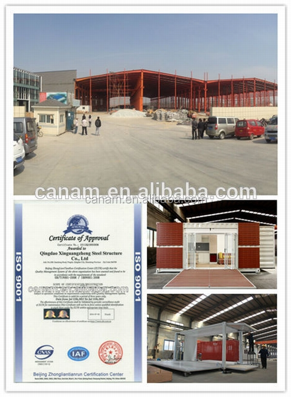 CANAM-manufacture china making container type unit fast food shop