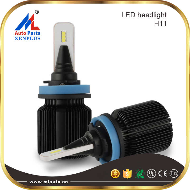 W1 wireless all in one plug and play one second install mini size 9005 HB3  auto led headlight bulbs