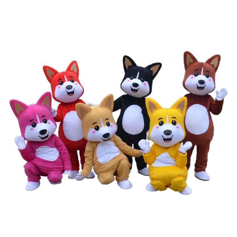 Hoge kwaliteit fashion design oem goedkope karakter schattige pluche promotie reclame cartoon dier mascottes kostuums