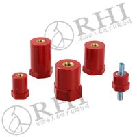 Brass electrical resistance drum type busbar insulator