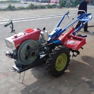 mini power Multifunctional farm tiller with ridger tools