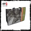 Professional nonwoven folding shopping bag, nonwoven tote shopping bag, high quality non woven bag