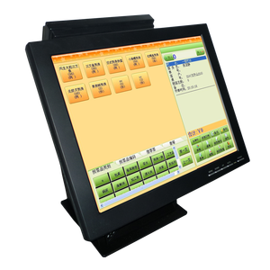 brand new pos system 10 inch LCD dual monitor touch screen pos all in one with windows system