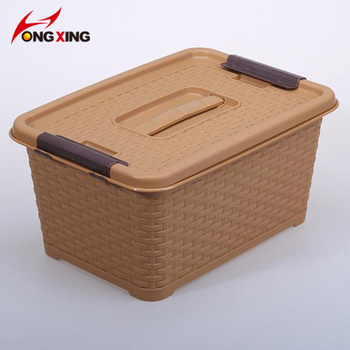 Ordinaire Home Colorful Plastic Storage Container With Lid